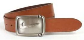 Nike Hinge Inspired Swoosh Vintage Edge Stitch Belt