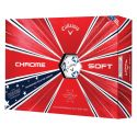 Callaway Chrome Soft Stars And Stripes Golf Balls 2019