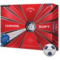 Callaway Chrome Soft Truvis Stars & Stripes Golf Ball