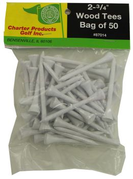 Charter Pro Slim Golf Tees 50 Pack 2 3/4""