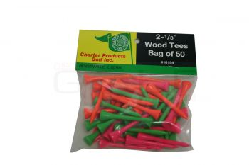 Charter Wood Tees 50 Pack