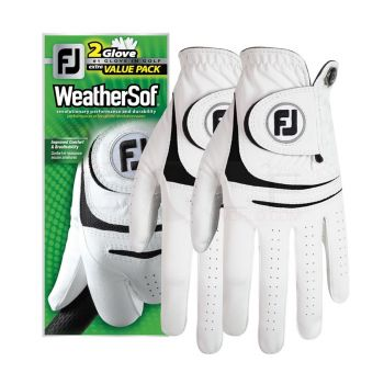 Foot Joy WeatherSof 2-Pack Gloves