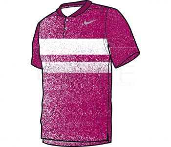 Nike Modern Fit Transition Dry Fade Polo 839491