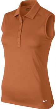 Nike Women's Victory Solid Sleeveless Polo 725598