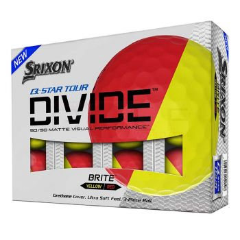 Srixon Q-Star Tour Divide Golf Balls